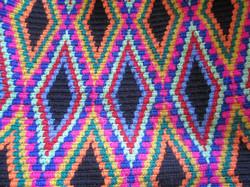 Wayuu Bag Weaving Pattern