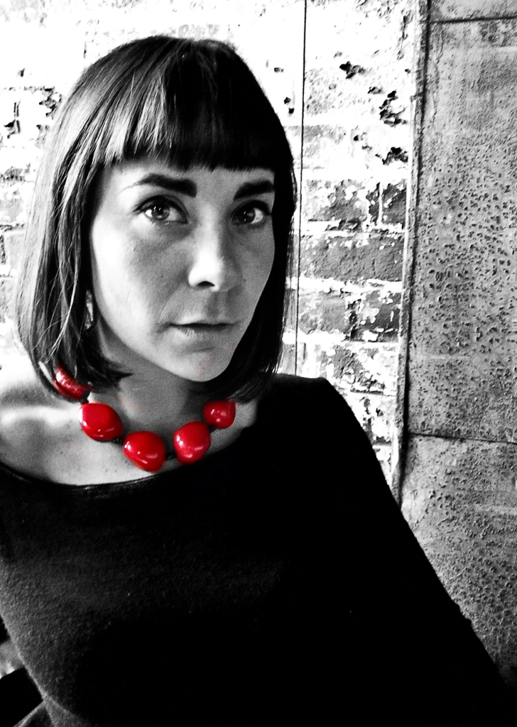 Red Tagua Choker Necklace by Belart