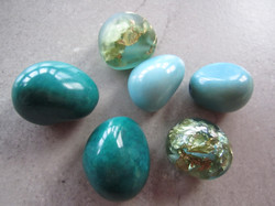 Eco Resin Beads in Turquoise