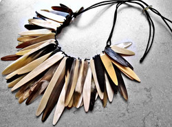 Fair Trade Up-cycled Horn Necklace
