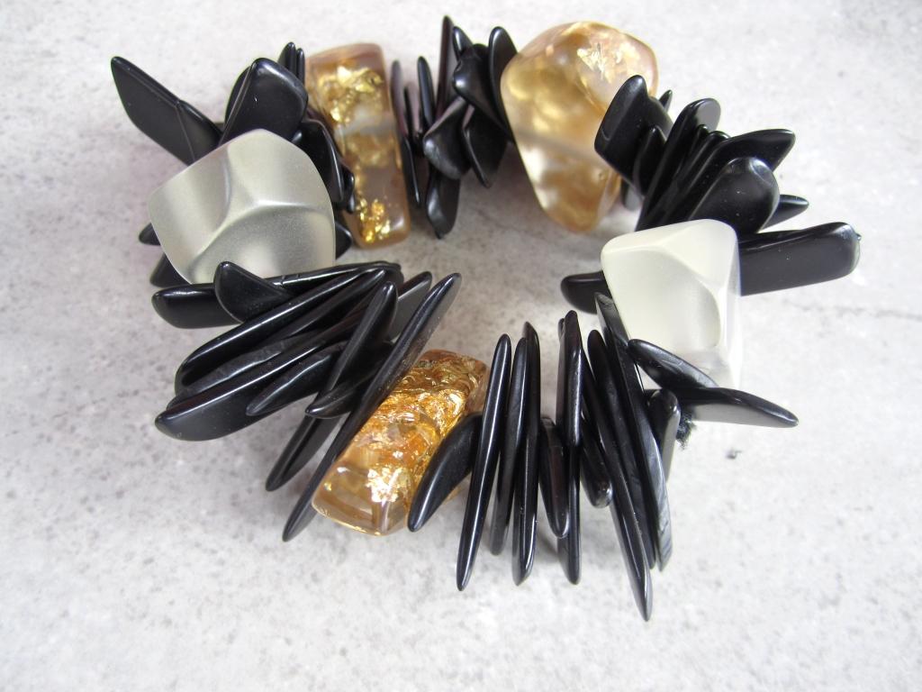 Unique Eco-Resin Bracelet