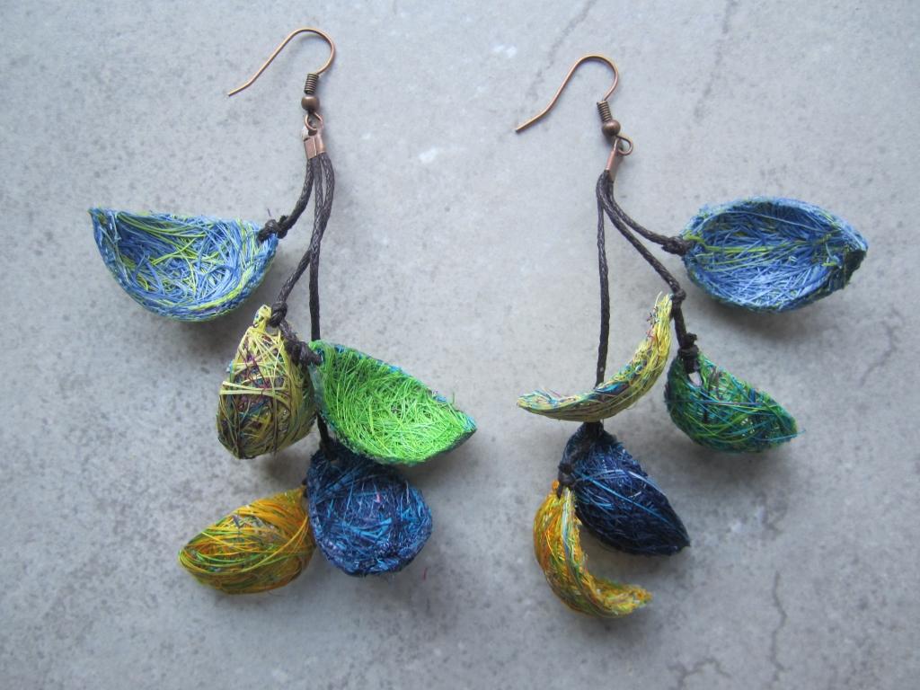 Fique Agave Earrings by Belart