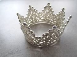 Sterling Silver Crown by Belart