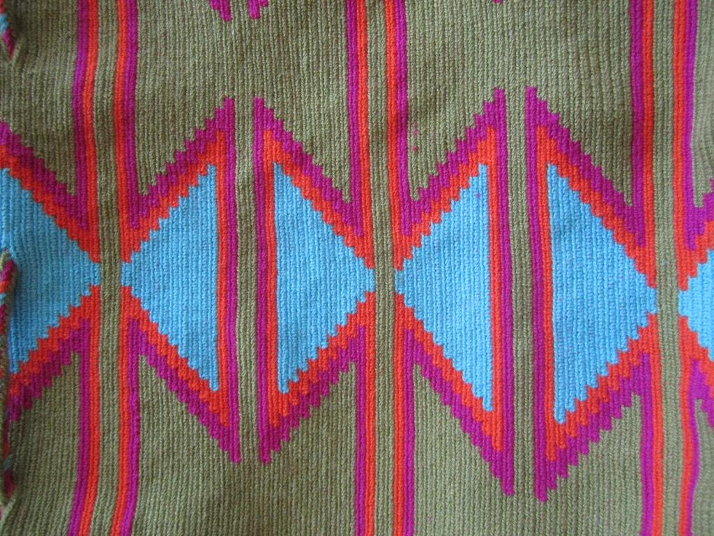 Wayuu Bags Weaving Pattern
