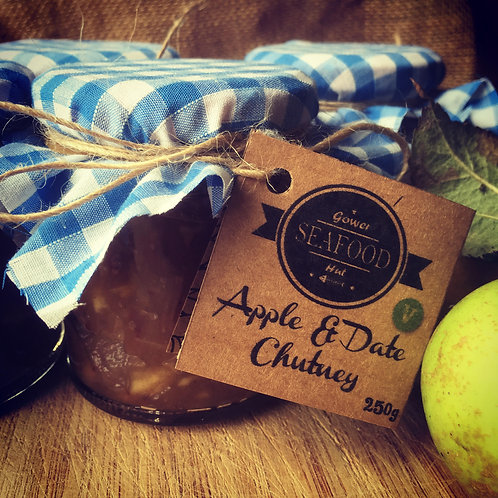 Our Homemade Apple & date Chutney