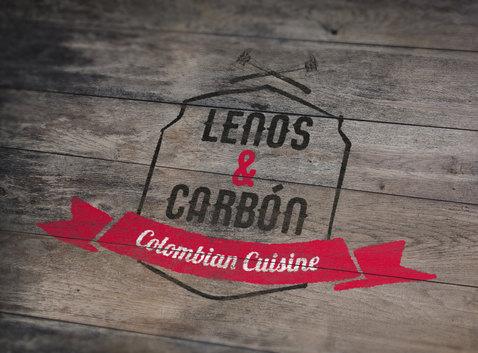 Logo Leños & Carbón