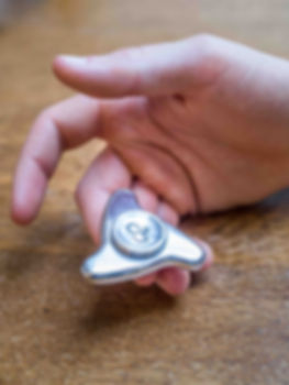 The Spinet fidget toy spinner designed by Fidgetry
