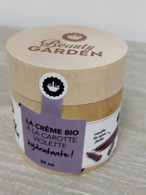 Creme visage carotte violette Beauty Garden