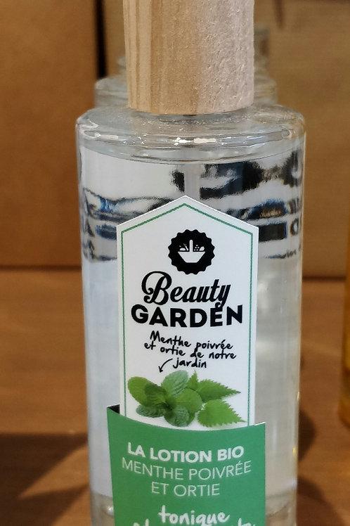 Lotion visage menthe et ortie Beauty Garden