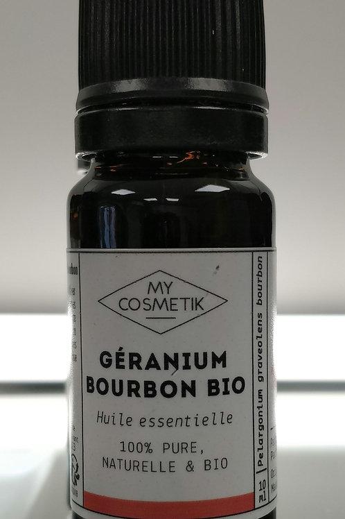 Huile essentielle Geranium bourbon bio 10ml