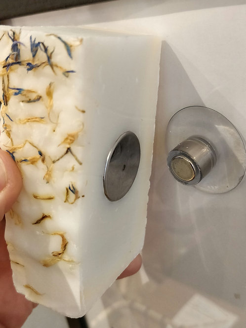 Porte savon magnetique