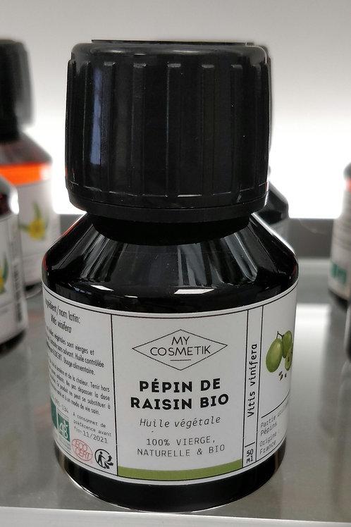 Huile vegetale Pepin raisin bio 50ml