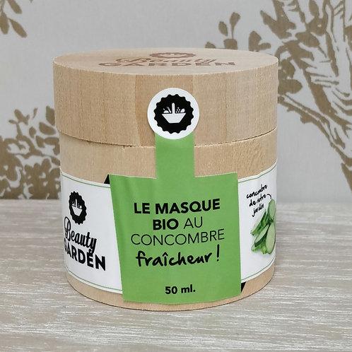 Masque concombre Beauty Garden