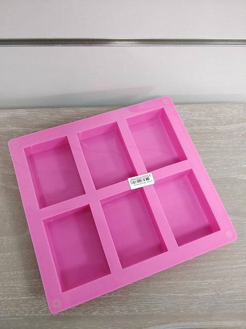 Moule savon 6 rectangles