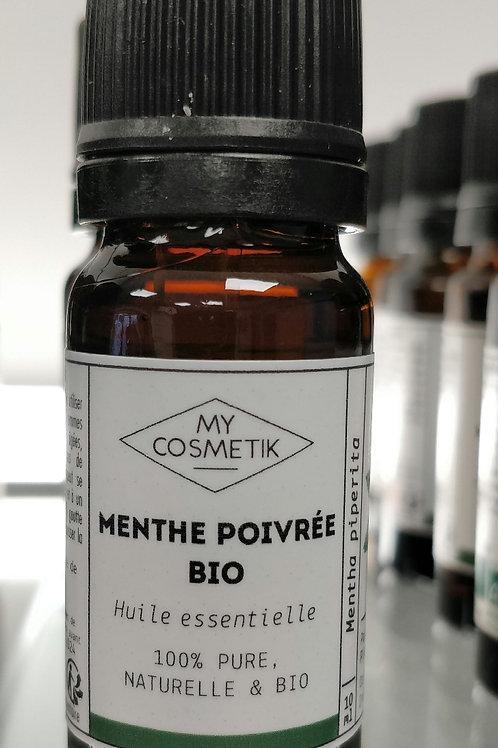 Huile essentielle Menthe poivree bio 10ml