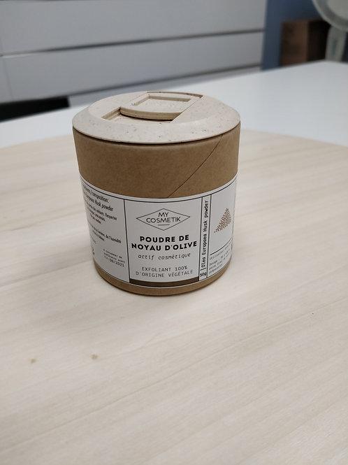 Poudre de noyau d'olive 50g