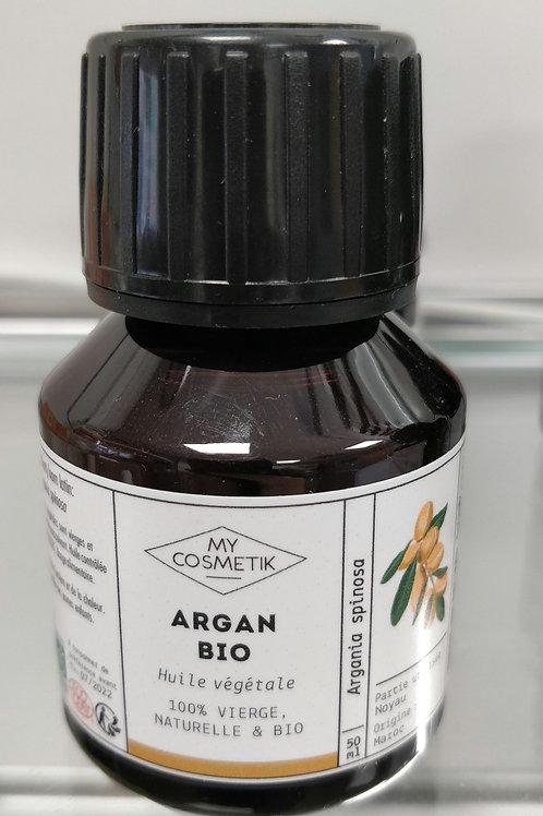 Huile vegetale argan bio 50ml