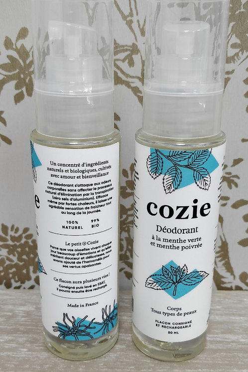 Deodorant spray Cozie