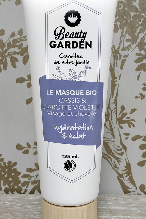 Masque visage et cheveuxcassis carotte Beauty Garden