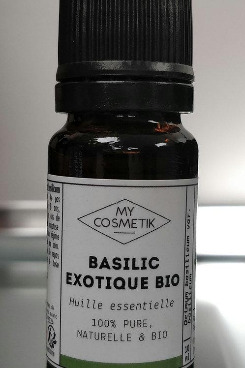 Huile essentielle Basilic exot. bio 10ml