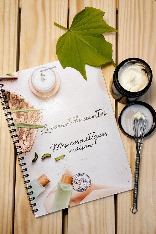 Le carnet de recettes, Mes cosmétiques maison