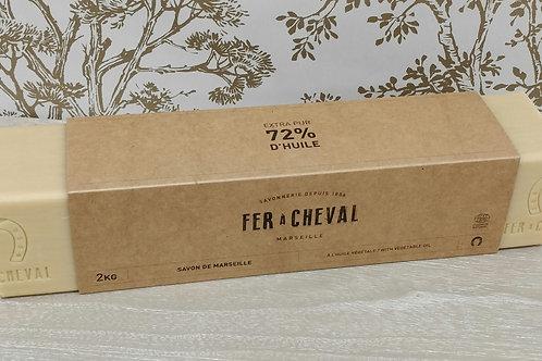 Savon Marseille barre vegetale 2 kg