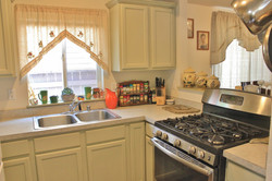 Kitchen with Cutout