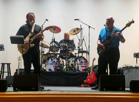 Sound check for opening at The Ridgefield Playhouse