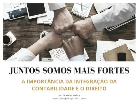 Juntos somos mais fortes: A integração da contabilidade e do direito.