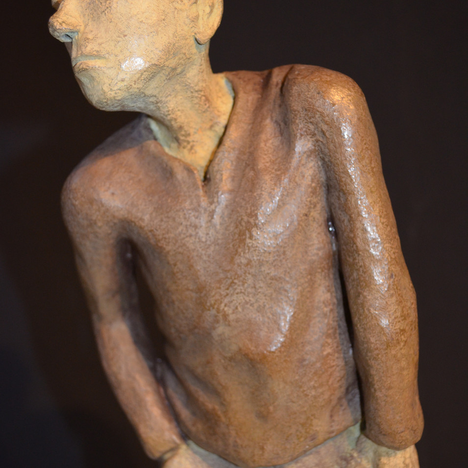 MÉLANCOLIQUE ANONYME - Bronze