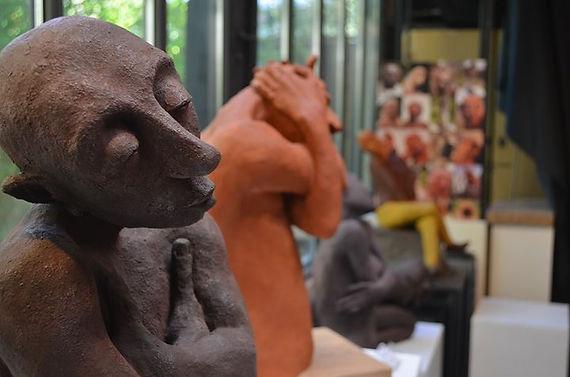 Visite virtuelle atelier Mijatovic sculpteur