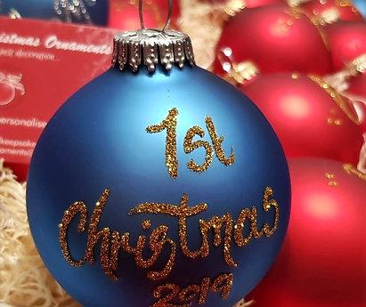 1st Christmas 2020