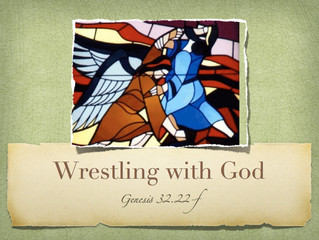 """WRESTLING WITH GOD"""
