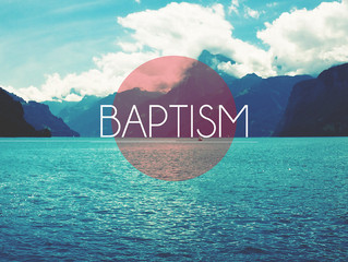 """REAFFIRMING OUR BAPTISMS"""