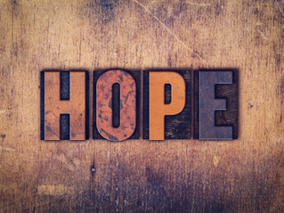 """Certainty Vs. Hope"""
