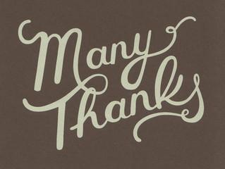 """""""Many Thanks"""""""