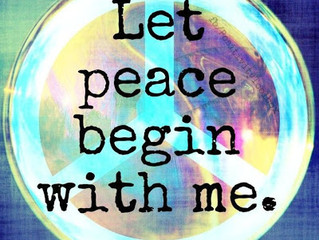 """""""A JUST AND LASTING PEACE"""""""