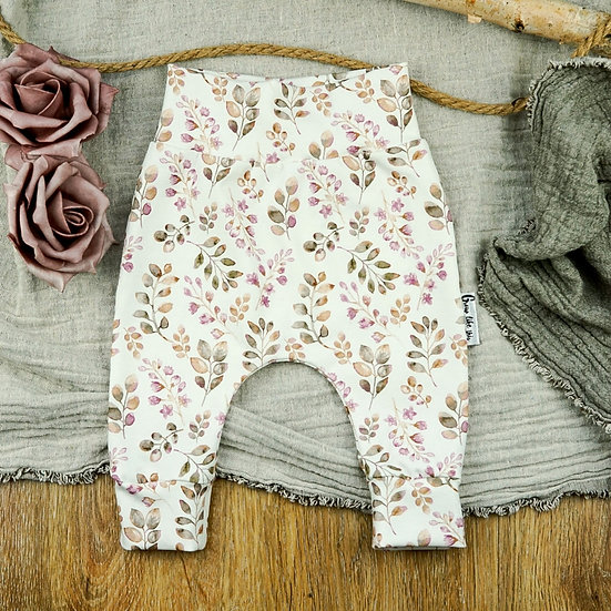 Hose Beeren, Babyhose, Kinderhose, Handmade baby, Pumphose, Baggypants, Slimharem