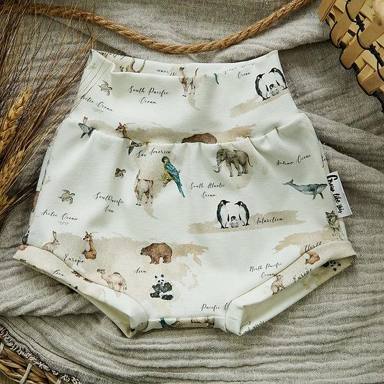 Bummie, Shorts, Babayshorts, Babyhose, Kindershorts