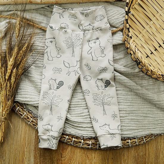 Leggings tiere, Leggings baby, Handmade leggings