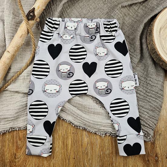 Babyhose Katzen, Newbornhose, kleine Hose