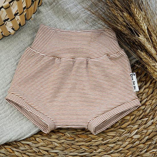 Bummie, Bummies, Babyshorts, Kindershorts, kurze Hose für Babyies, Ringelhose, Streifenhose