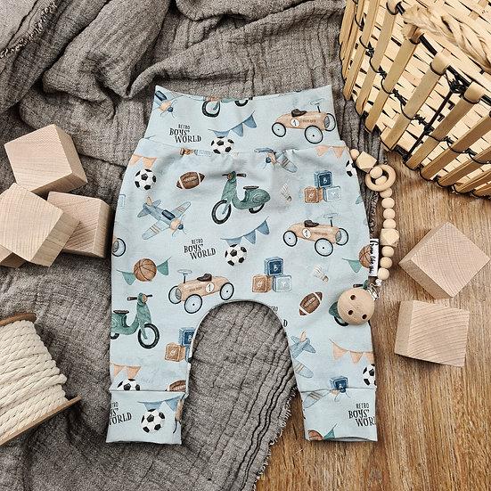 Hosen für Jungs, Geschenk zur Geburt, Jungenkleidung, Jungskleidung, Retrohose, Pumphose, Geschenk zur Geburt