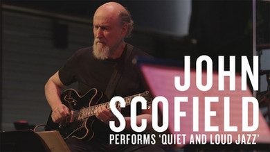 """With John Scofiled and the """"Quiet and Loud"""" band"""