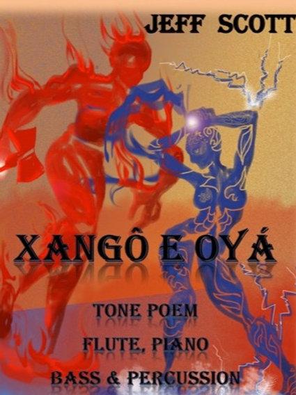 Xangô and Oyá for Flute and Rhythm Trio