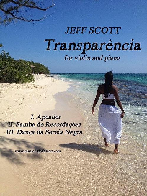 Transparencia - Sonata for violin and piano