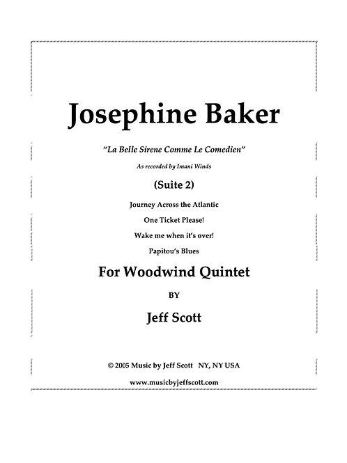 """Josephine Baker Suite ll. """"Le Sirène Comme Comedienne"""""""
