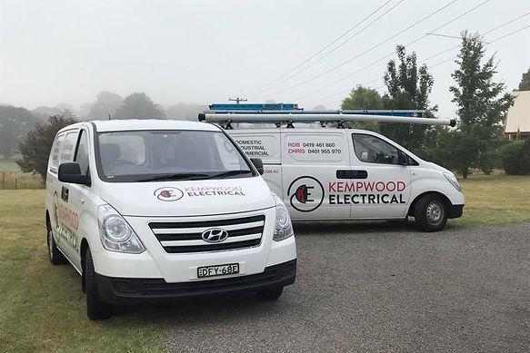 The Kempwood Electrical Fleet ;)