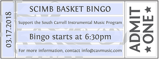 Instrumental Music Basket Bingo - Purchase Tickets Here!