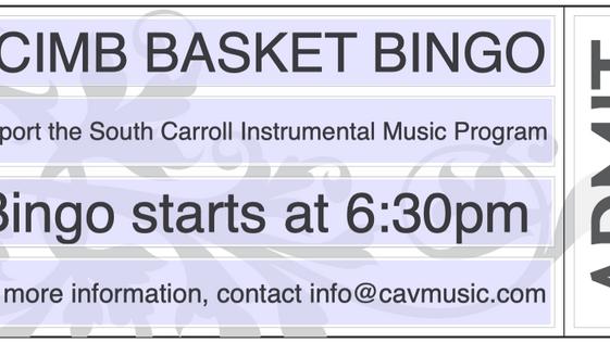 Instrumental Music Basket Bingo - Purchase Tickets Here!